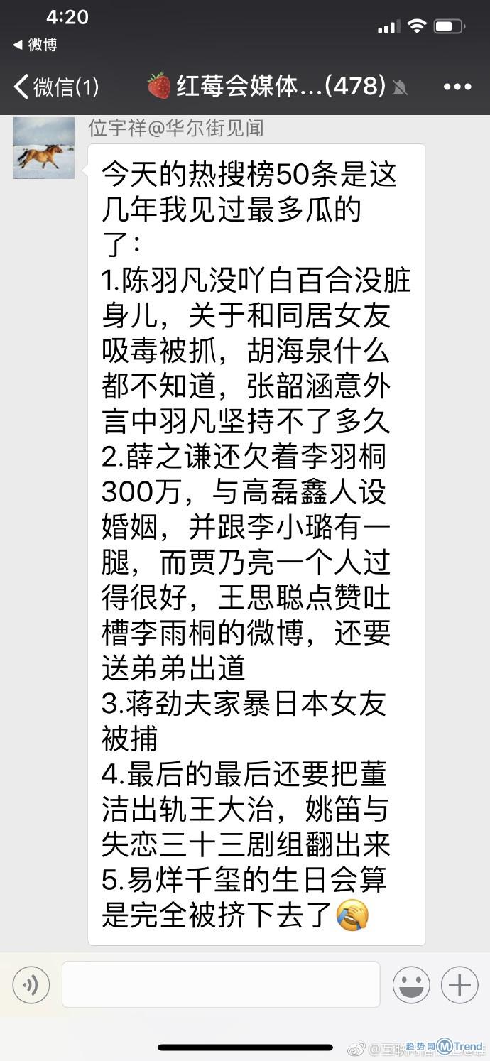 娱乐圈吃瓜:陈羽凡吸毒被抓 蒋劲夫被逮捕